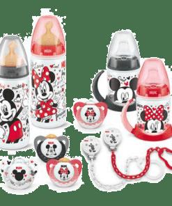 Cadenita Sujeta Chupetes Mickey Mouse