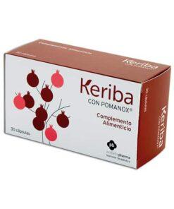 Comprar online KERIBA FORTE CON POMANOS 220 MG 30 CAPS