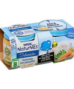 Comprar online Naturnes Verd Pescadill 2X200G