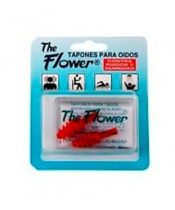 Comprar online TAPONES FLOWER GOMA SILICONA ROJO
